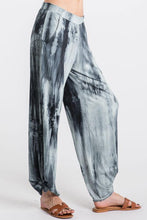 Load image into Gallery viewer, BoHo Tie Dye Pants in Navy - Made in USA