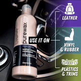 PureWax Leather Cleaner / Conditioner 16 Oz (474ml)