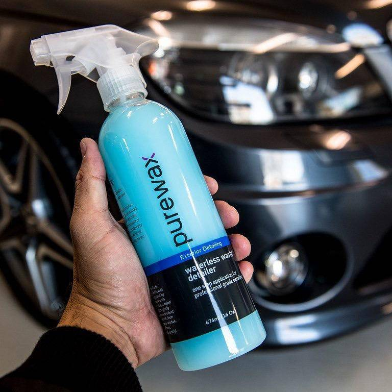 PureWax Waterless Car Wash/Detailer 8 Oz (236ml)