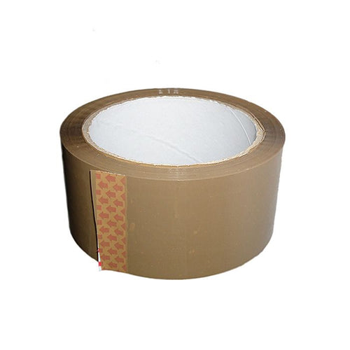 Brown Packing Tape  50mm x 66mts - Kingsley Labels