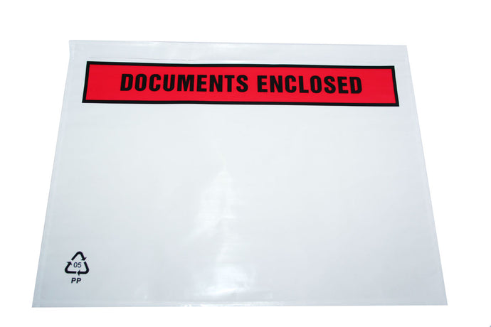 Documents Enclosed Envelopes - Kingsley Labels
