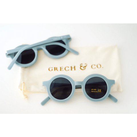Sustainable Kids Sunglasses Light Blue
