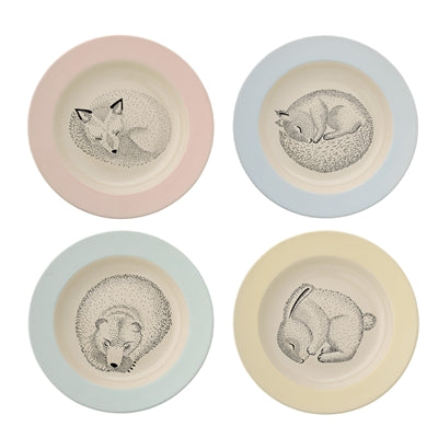 Adelynn Soup Plate, Multi-color, Stoneware Each