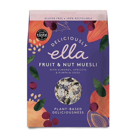 Deliciously Ella Fruit & Nut Muesli Raisin, Nut & Seeds – 500g