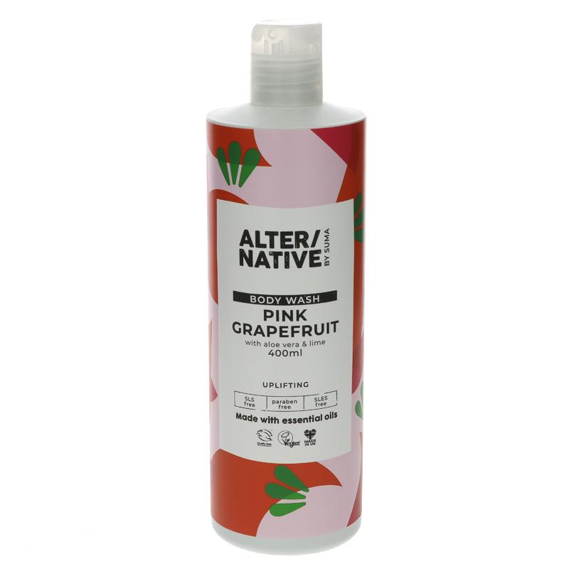 Alter Native Body Wash Pink Grapefruit - 400ml