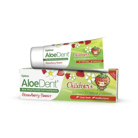 Aloe Pura Aloe Dental Childrens Strawberry Toothpaste - 50ml