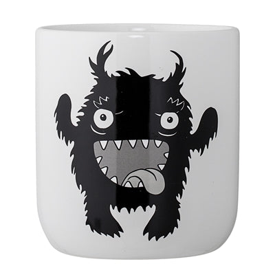 Monster Jar, White, Ceramic