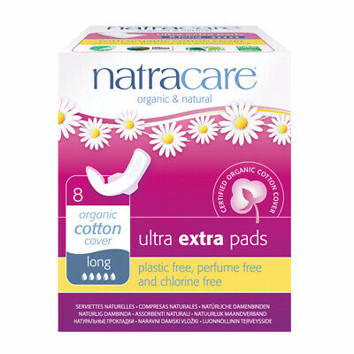 Natracare Ultra Extra Pads Long - Wings
