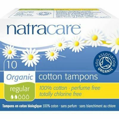 Natracare Cotton Tampon X 10