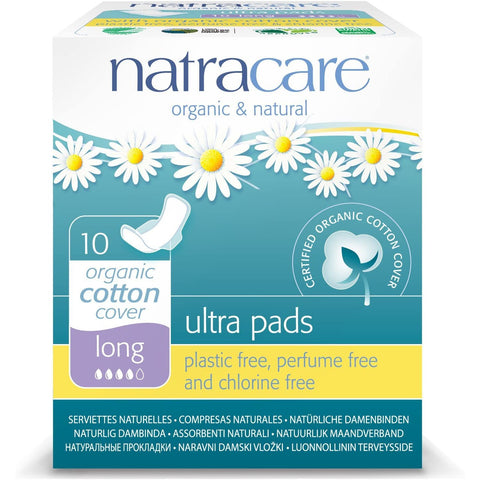 Natracare Ultra Pad Long + Wings