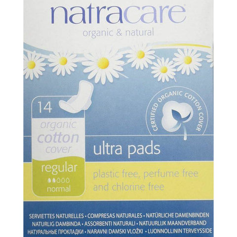Natracare Care Ultra Pads Normal-Wings