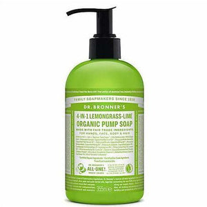Dr. Bronner Lemongrass-Lime Sugar Soap 355ml - Meats And Eats