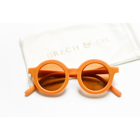 Sustainable kids sunglasses Golden