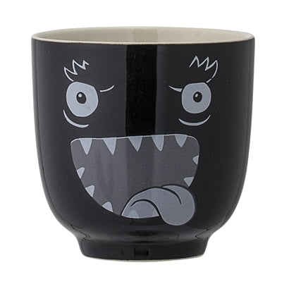 Monster Cup, Black, Stoneware