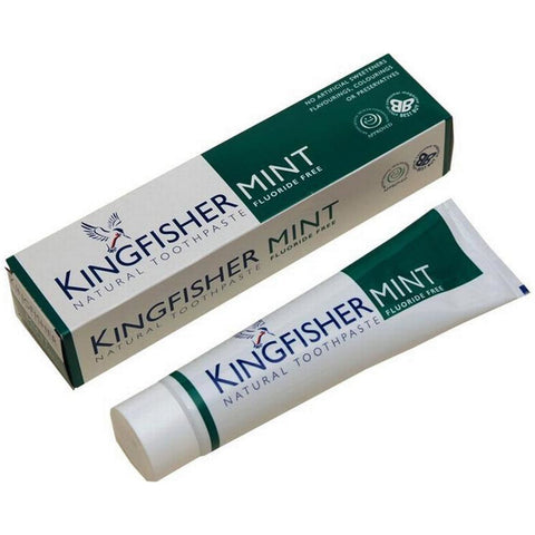 Kingfisher Mint Fluoride Free Toothpaste - 100ml