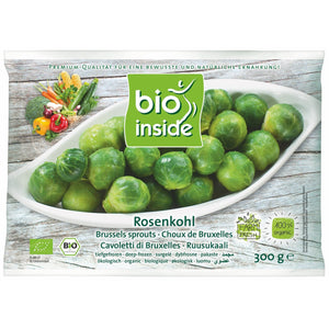 Organic  brussel sprouts