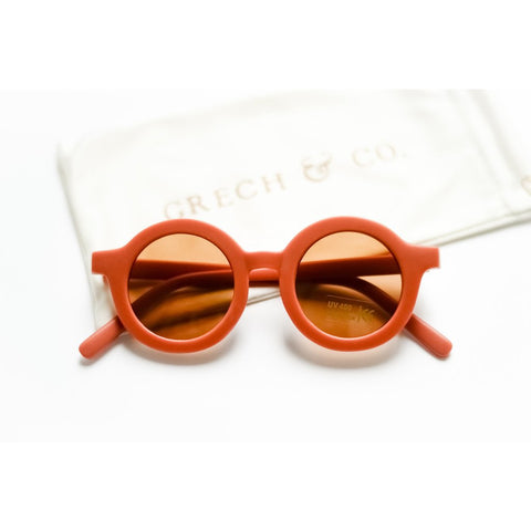 Sustainable kids sunglasses Rust