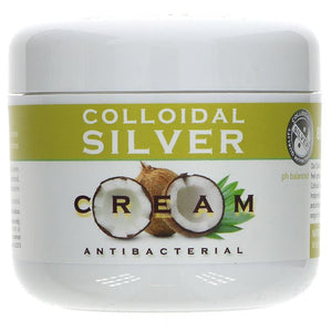 Nature's Greatest Secret Colloidal Silver Cream Jar