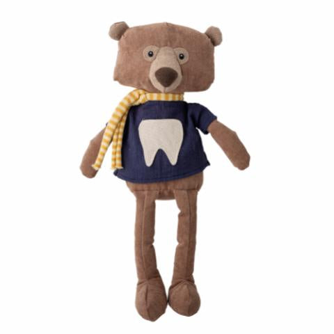 Harry the tooth fairy Soft Toy, Brown, Polyester