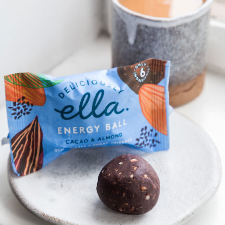 Deliciously Ella Cacao & Almond Energy Ball – 40g