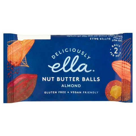 Deliciously Ella Almond Nut Butter Balls – 36g