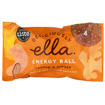 Deliciously Ella Cashew & Ginger Ball – 40g