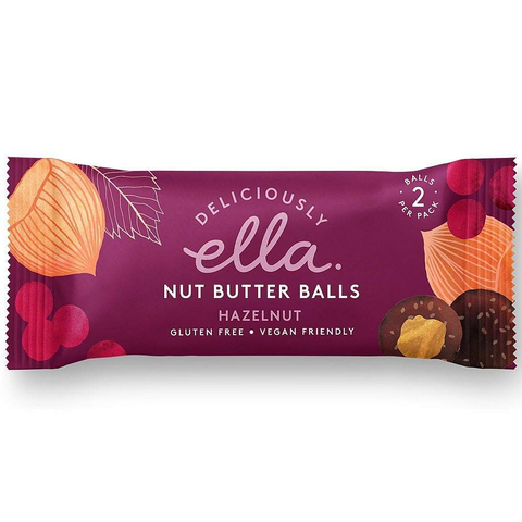 Deliciously Ella Hazelnut Nut Butter Balls – 36g