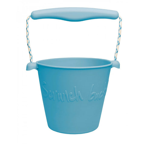 Beach Bucket, Foldable - Petrol Blue