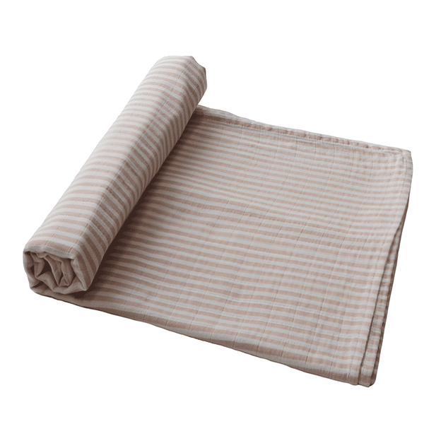 Swaddle Natural Stripe