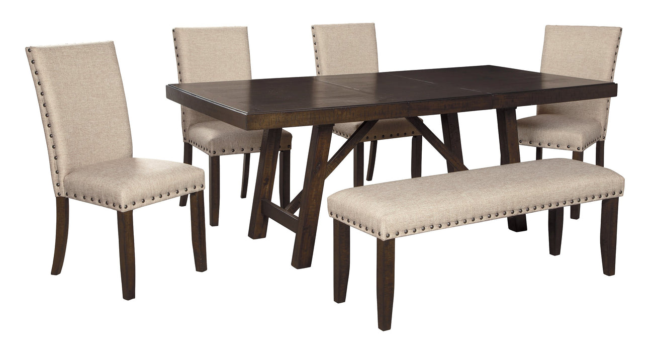 Rokane Signature Design 6-Piece Dining Room Package