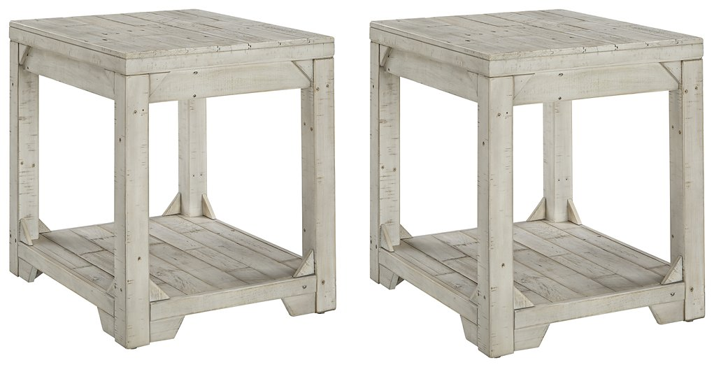Fregine Signature Design 2-Piece End Table Set