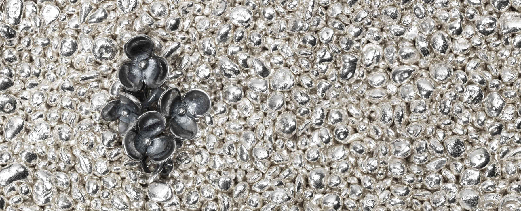 Beautiful raw silver we use in our jewellery.
