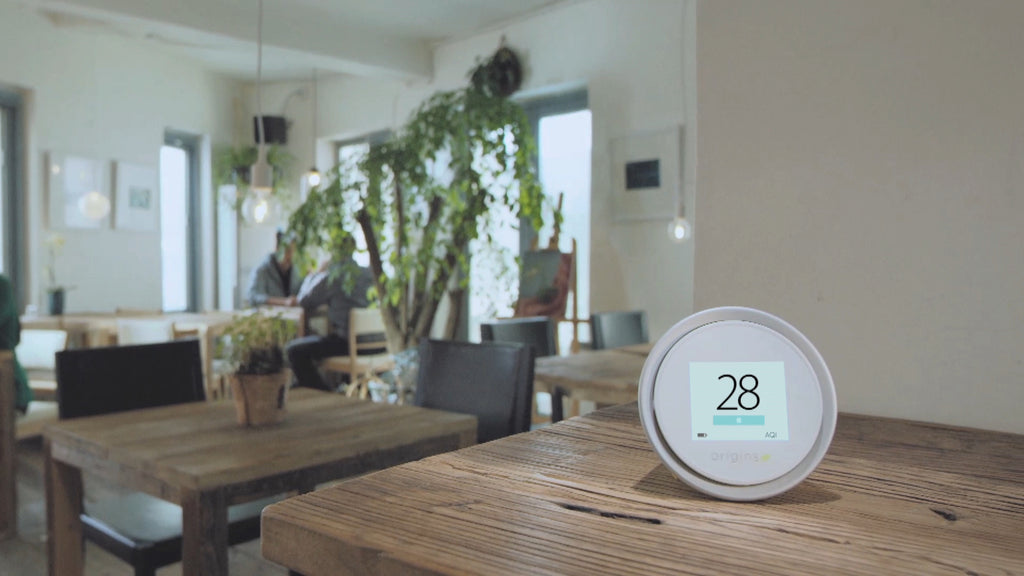 Monitoor indoor air quality