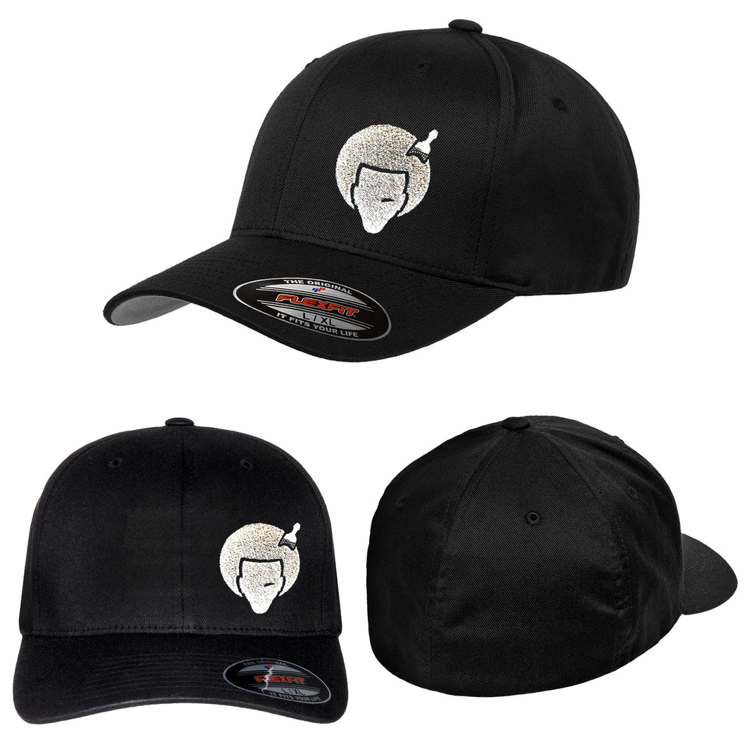 A Fro Pic Embroidered Flexfit Hat