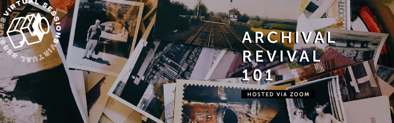 Archival Revival 101 online class for digitizing old photos and slides