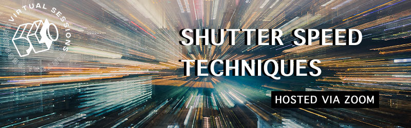 Online photography class about shutter speed techniques