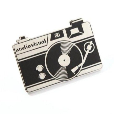 Audiovisual Metal Pin
