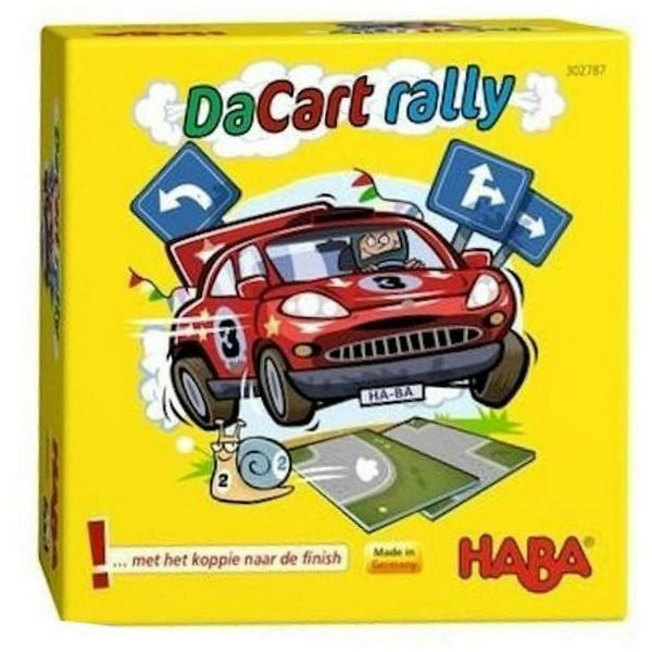 HABA da cart rally spelletje