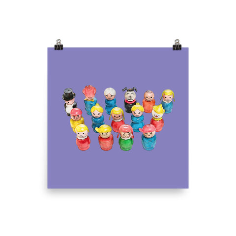 Fisher-Price Little People Art Print