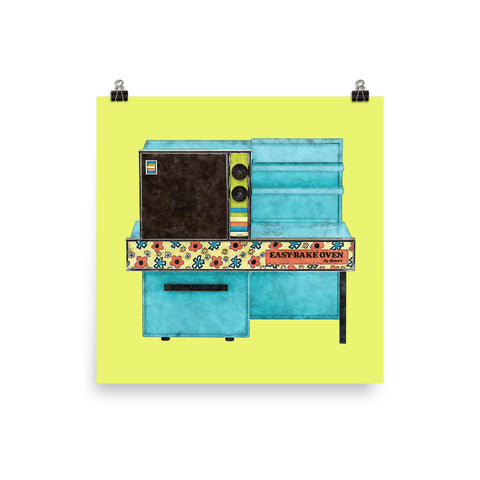 Easy-Bake Oven Art Print