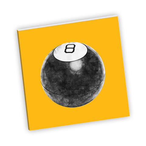 Magic 8 Ball Notebook