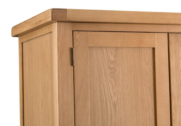 Harvington 2 Door 2 Drawer Wardrobe