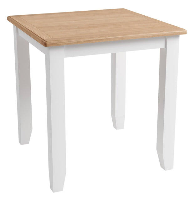 Ludlow White Fixed Top Table