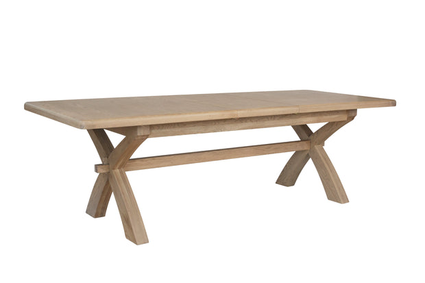 Hereford 2m-2.5m Cross Leg Dining Table