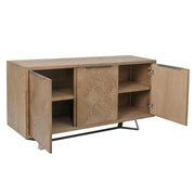 Parquet 3 Door Sideboard