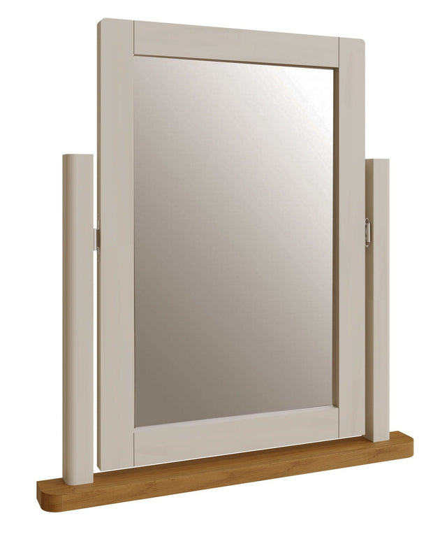 Ludlow Light Grey Trinket Mirror