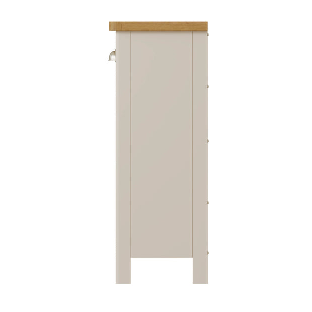 Ludlow Light Grey Wine Cabinet