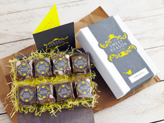 Easter brownie bites gift box