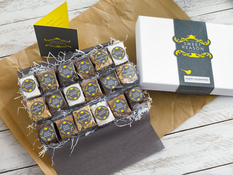 Our Indulgent Brownie Box combines all our favourite brownie flavours for you to try! ...