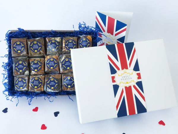 British Gluten Free Indulgent Brownie Box